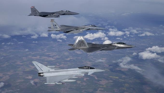 Nato Deployment Successful for Raptors