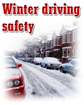 Winter driving safety image