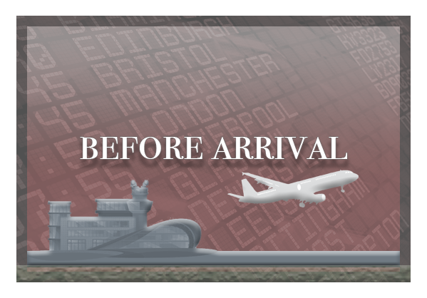 Before Arrival graphic