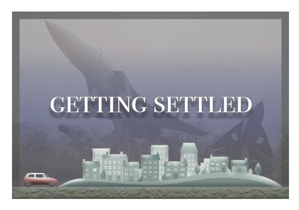 Getting settled graphic